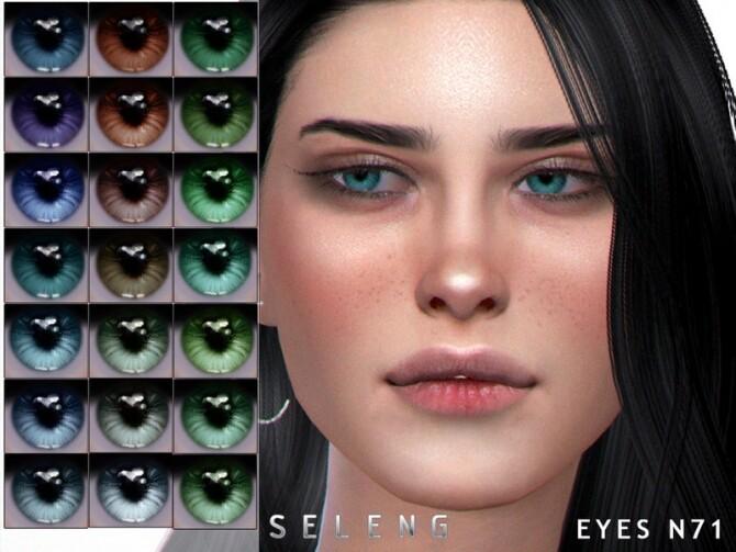 Sims 4 Eyes N71 by Seleng at TSR