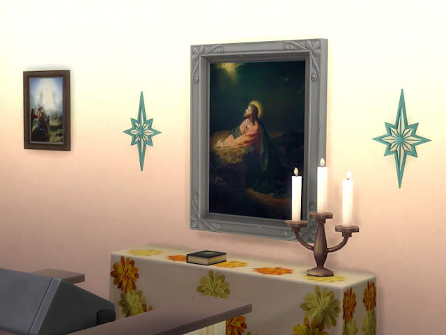Sims 4 Prayer house pictures at KyriaT's Sims 4 World