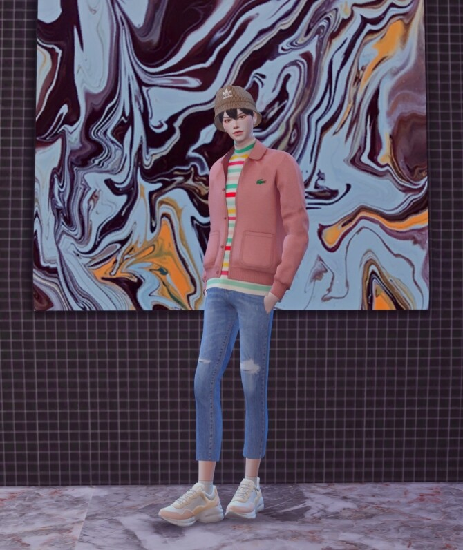 Sims 4 Male Romantic Top at Chaessi