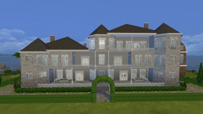 The Huge Lakeside Mansion by xperimental.sim at Mod The Sims image 1814 670x377 Sims 4 Updates