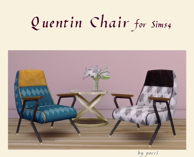 Quentin Chair by Pocci at Garden Breeze Sims 4 image 182 670x542 Sims 4 Updates