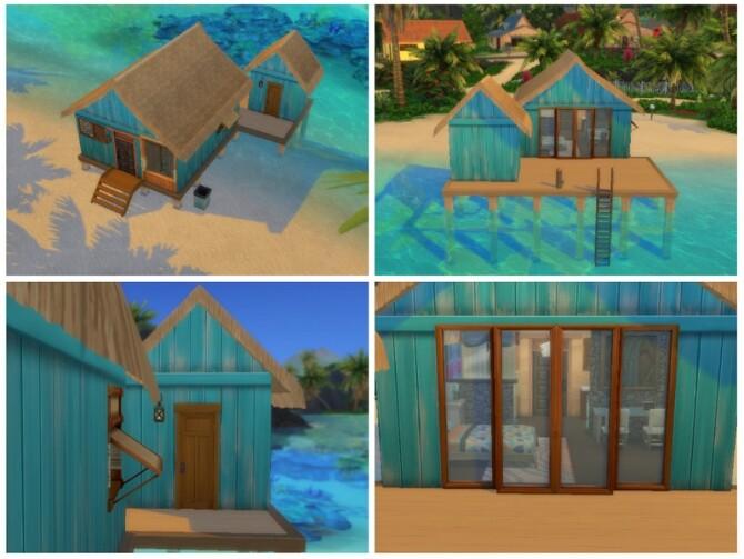 Sims 4 Lagoon Look V2.0 14K NO CC by Biotic Blue Simmer at TSR