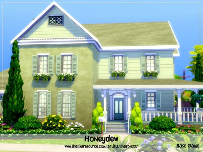 Honeydew house Nocc by sharon337 at TSR image 1827 670x503 Sims 4 Updates