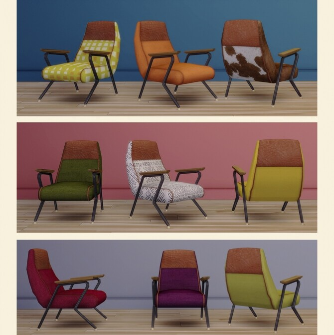 Quentin Chair by Pocci at Garden Breeze Sims 4 image 183 670x671 Sims 4 Updates
