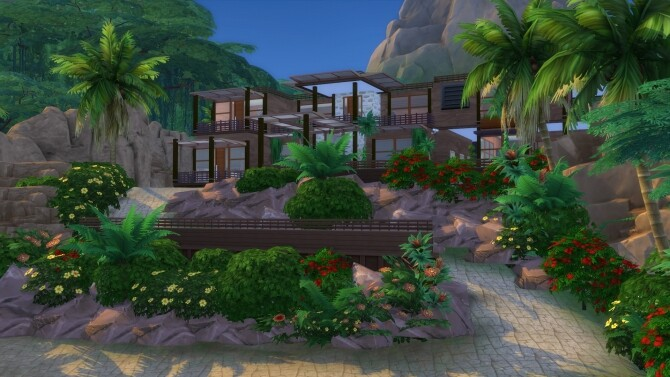 Sims 4 Amazing 64x64 luxury Family Villa by bradybrad7 at Mod The Sims