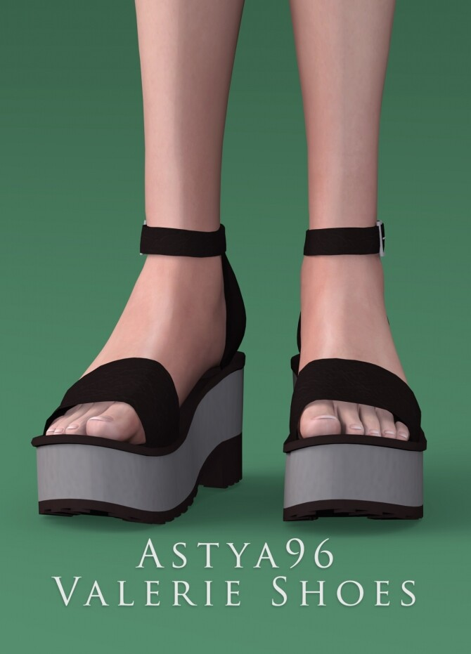 Sims 4 Lily & Valerie Shoes Mini Pack at Astya96