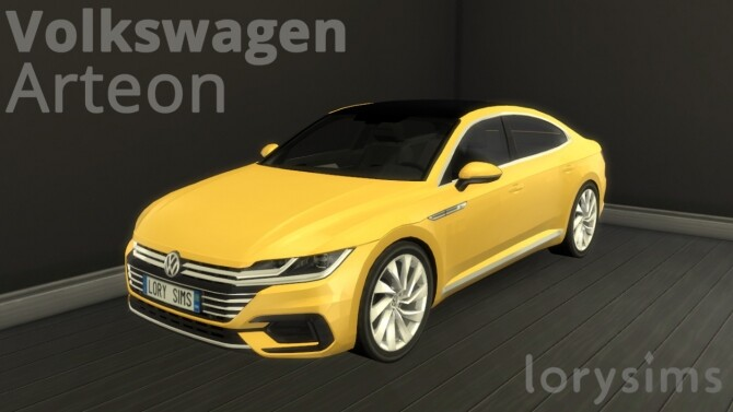 Volkswagen Arteon at LorySims image 1906 670x377 Sims 4 Updates