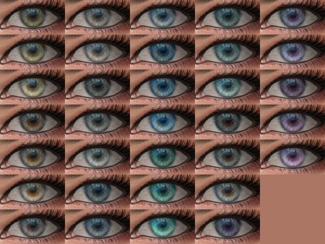 Sims 4 Morpho Eyes 19 HQ by Alf si at TSR
