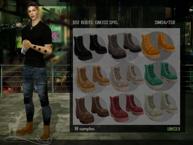 DSF BOOTS GNEISS SP15 by DanSimsFantasy at TSR image 19110 670x503 Sims 4 Updates