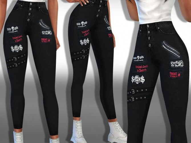 Female Black Label Jeans by Saliwa at TSR image 1916 670x503 Sims 4 Updates