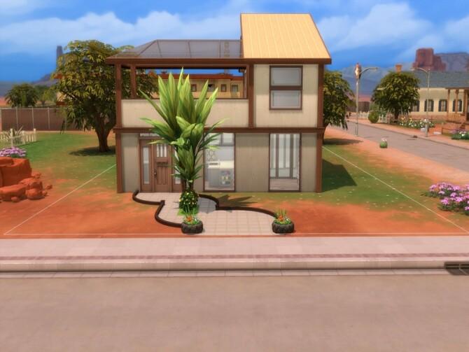 Sims 4 Eco Living Shell by LJaneP6 at TSR