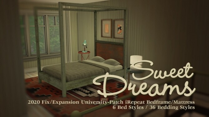 Sims 4 University Nightmares by Bau at b5Studio