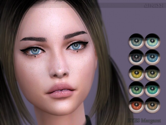 Sims 4 Margaret eyes by ANGISSI at TSR