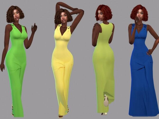 Sims 4 Summer Dress by Teenageeaglerunner at TSR