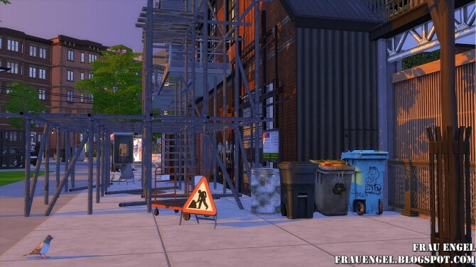 Sims 4 Sea Wolf loft two versions at Frau Engel