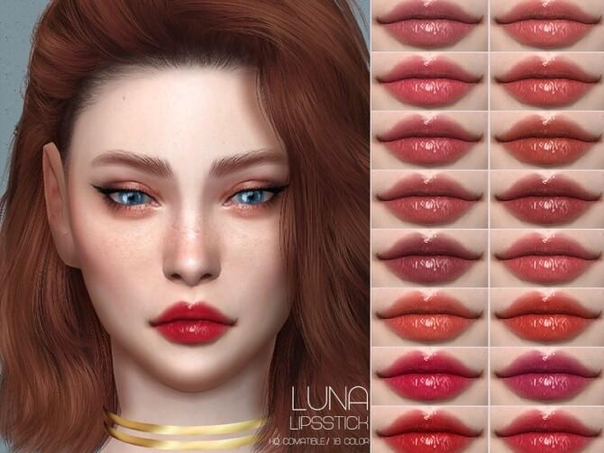 Sims 4 LMCS Luna Lipstick (HQ) by Lisaminicatsims at TSR