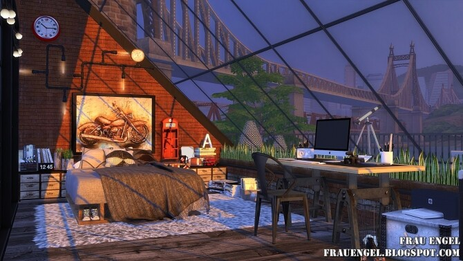 Sea Wolf loft two versions at Frau Engel image 2083 670x377 Sims 4 Updates