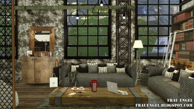 Sea Wolf loft two versions at Frau Engel image 2093 670x377 Sims 4 Updates
