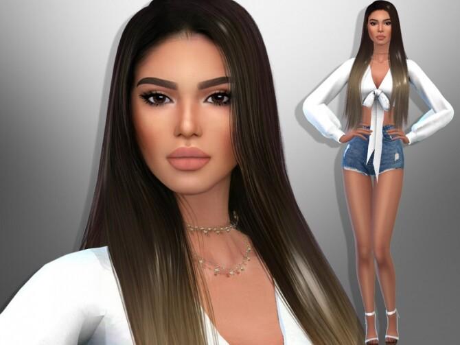 Sims 4 Lindsey Cutler by divaka45 at TSR
