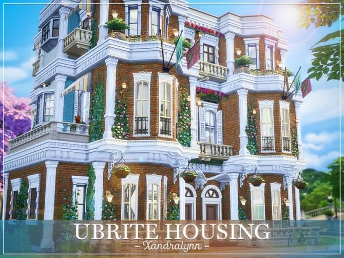 Sims 4 UBrite Housing by Xandralynn at TSR