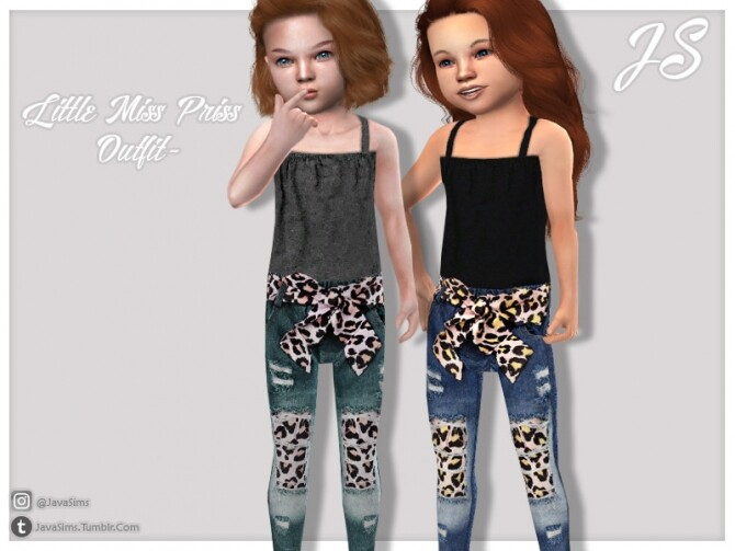 Little Miss Priss Outfit by JavaSims at TSR image 2119 670x503 Sims 4 Updates