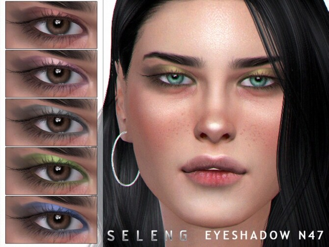 Eyeshadow N47 by Seleng at TSR image 2120 670x503 Sims 4 Updates