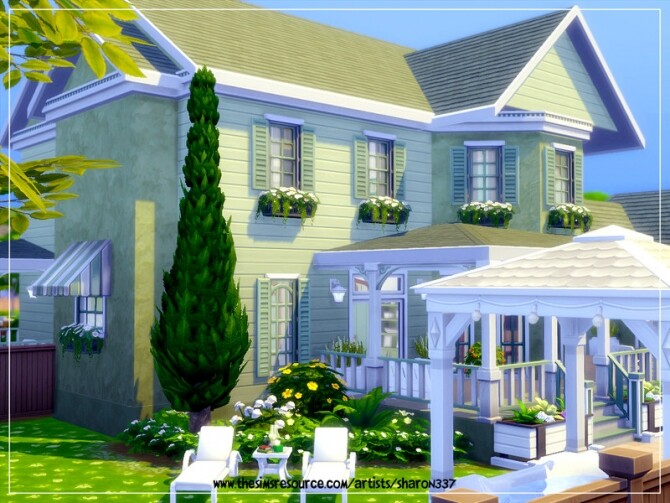 Honeydew house Nocc by sharon337 at TSR image 2127 670x503 Sims 4 Updates