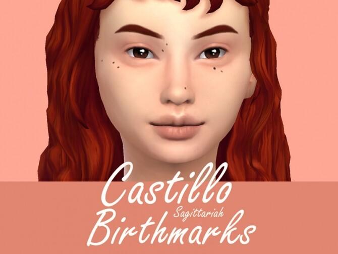 Sims 4 Castillo Birthmarks by Sagittariah at TSR