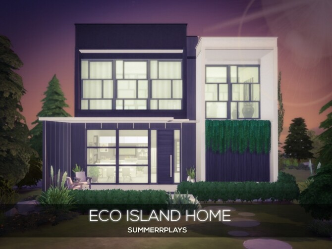Eco Island Home by Summerr Plays at TSR image 2148 670x503 Sims 4 Updates