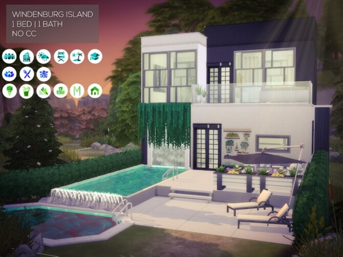 Eco Island Home by Summerr Plays at TSR image 2234 670x503 Sims 4 Updates