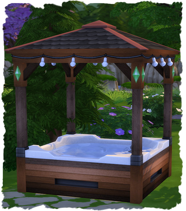 Hot Tube with roof by Chalipo at All 4 Sims image 2291 Sims 4 Updates