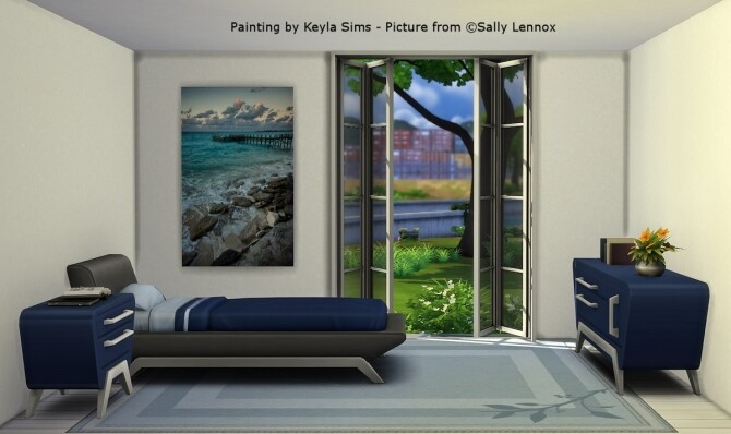 Sims 4 Sally Lennox paintings at Keyla Sims