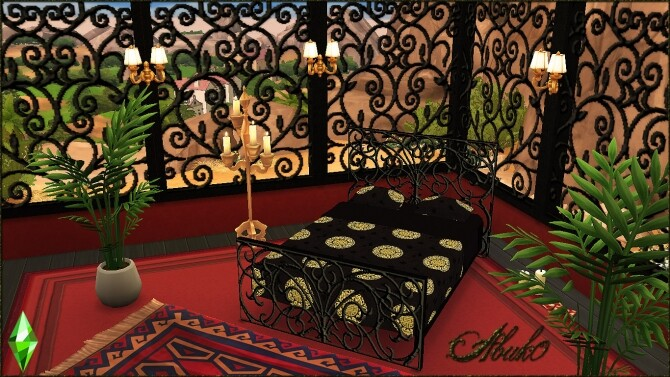 Wrought Iron Beds and Windows & Window + Door at Abuk0 Sims4 image 2381 670x377 Sims 4 Updates