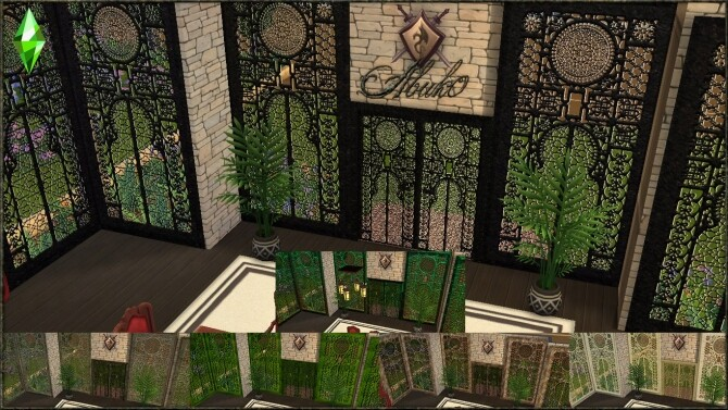 Wrought Iron Beds and Windows & Window + Door at Abuk0 Sims4 image 2411 670x377 Sims 4 Updates