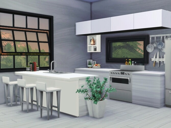Sims 4 Eco Island Home by Summerr Plays at TSR