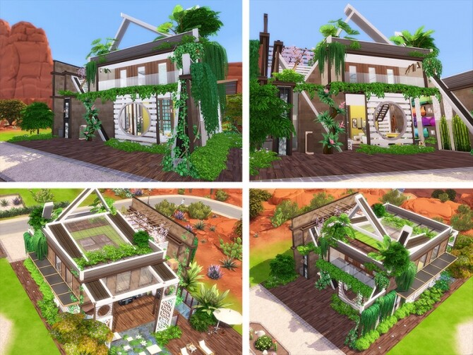 Sims 4 e Vico House by Ineliz at TSR