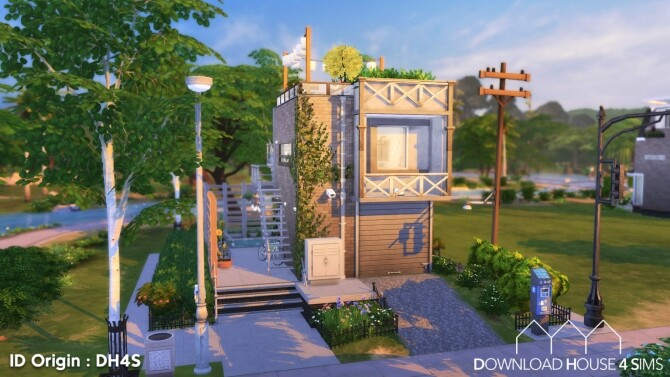 Suburban Home 4 at DH4S image 254 670x377 Sims 4 Updates