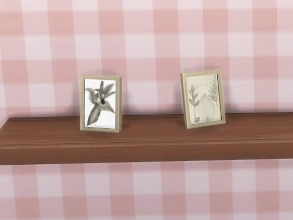 Small botanical drawings at KyriaT's Sims 4 World image 2571 Sims 4 Updates