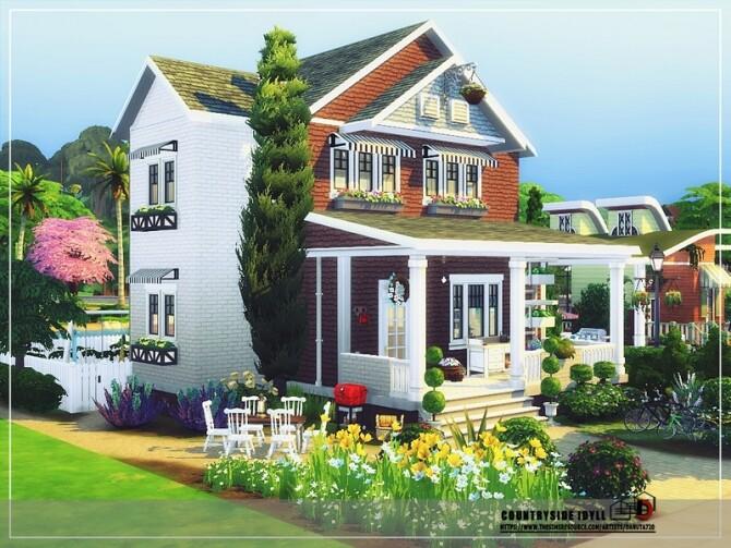 Sims 4 Country side idyll by Danuta720 at TSR