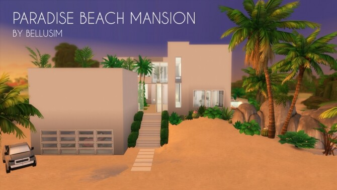 Paradise Beach Mansion by Bellusim at Mod The Sims image 2701 670x377 Sims 4 Updates