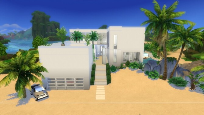 Paradise Beach Mansion by Bellusim at Mod The Sims image 27110 670x377 Sims 4 Updates