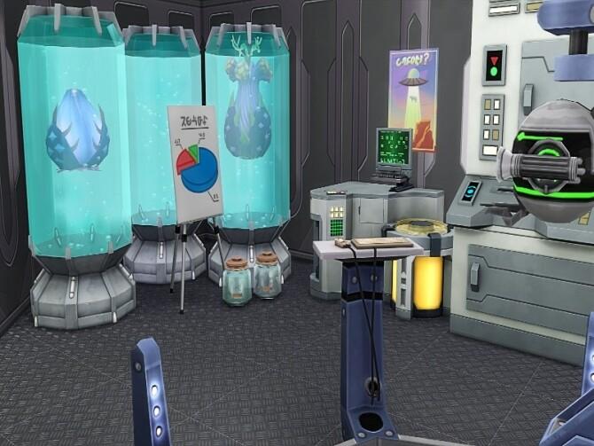 Sims 4 Mad scientist lab by GenkaiHaretsu at TSR