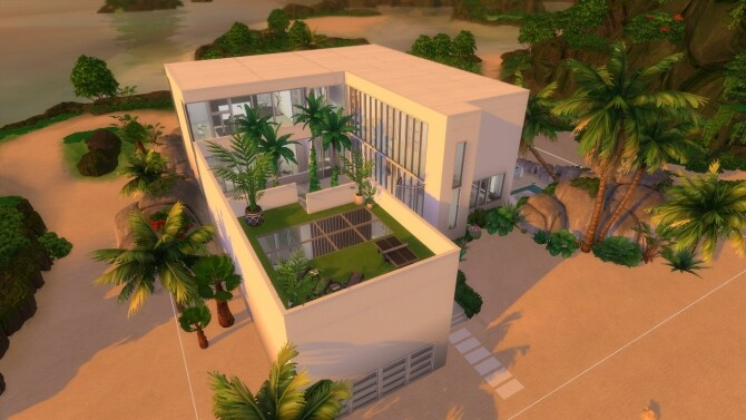 Paradise Beach Mansion by Bellusim at Mod The Sims image 2726 670x377 Sims 4 Updates