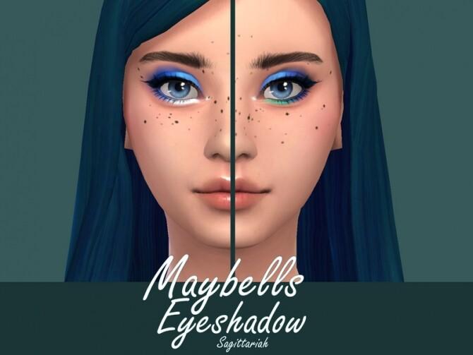 Sims 4 Maybells Eyeshadow by Sagittariah at TSR