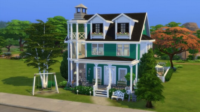 Parenthood House Renovation by Cassie Flouf at L'UniverSims image 275 670x377 Sims 4 Updates