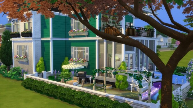 Parenthood House Renovation by Cassie Flouf at L'UniverSims image 277 670x377 Sims 4 Updates