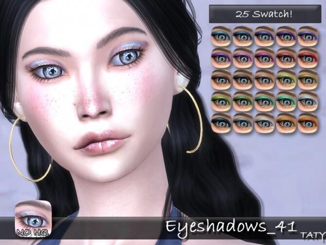 Sims 4 Eyeshadows 41 by tatygagg at TSR