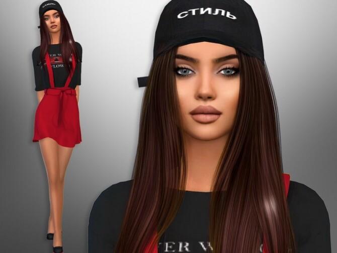 Sims 4 Sanya Molina by divaka45 at TSR