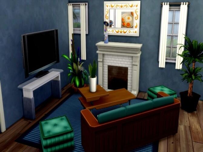 Grey suburbian house by GenkaiHaretsu at TSR image 2829 670x503 Sims 4 Updates