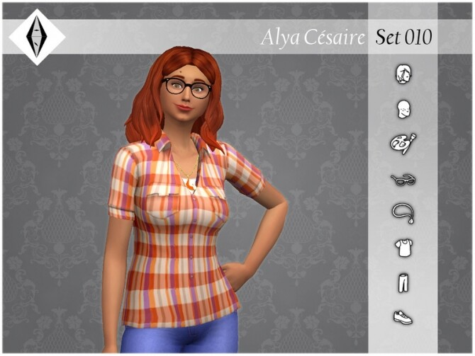 Sims 4 Alya Cesaire Set 010 by AleNikSimmer at TSR